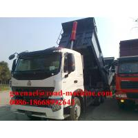 Buy cheap 336HP 6x4 HOWO A7 Heavy Duty Dump Truck EURO II in White Yellow product