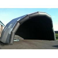 China Customized Giant Inflatable Stage Cover Black Large Inflatable Event Tent wholesale