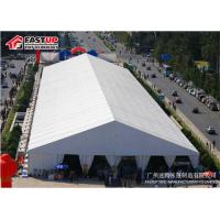 Enclosed 35 X 40 Wedding Marquee Tents For Hire PVC Coated Fabric Sidewall