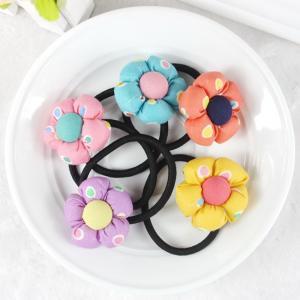 Buy cheap Baby accessories children Girls jewelry Rabbit pumpkin flower baby headwear hair ring hair rope elastic hair band product