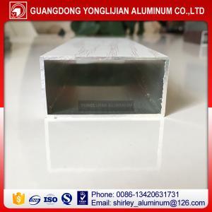 Buy cheap Powder coated wood grain aluminum rectangular tubes from China,aluminum square tube sizes product