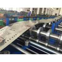 Single Chain Drive Cable Tray Roller Making Machine / Roll Forming Machinery