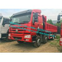 Buy cheap 8x4 336/371hp Semi Low Bed Trailer Low Deck Trailer White Red Blue product
