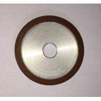 Buy cheap Flat Resin Bonded Diamond Grinding Wheels Grit Abrasive For Crank Shaft Magnetic product