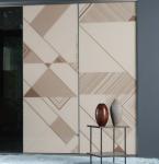 Buy cheap CY-ZG405A Durable Aluminum Sliding Doors For Wardrobe, Modern Bedroom Glass Sliding Closet Doors Factory product