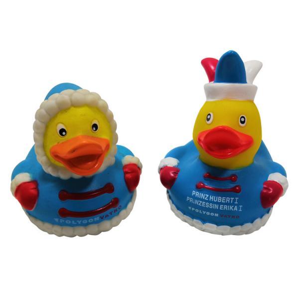 Quality ECO Friendly Unique Bath Rubber Ducks / Bathtub Fun Bath Toys For Toddlers for sale