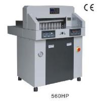Buy cheap 560HP Hydraulic & Programmable Paper Cutter product