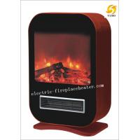 China Contemporary Home Hardware Electric Fireplaces Black / Red Electric Fireplace Stove on sale