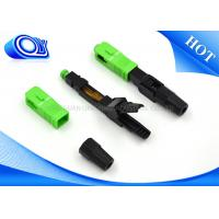 Buy cheap Fast Single Mode Fiber Connector For Active Device Termination from wholesalers