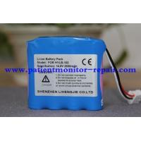 China Used Medical Equipment Accessories , Edan SE-3 - 2 Unidades 2 ECG Machine Compatible Battery PN FOR HYLB-102 on sale