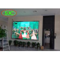 Buy cheap full color p4 smd die-cast aluminum tv led display wall mouted inside building product