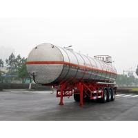 China Stainless Steel Gas Tanker Truck Trailer wholesale