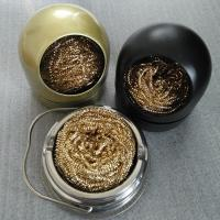 China Industrial Wire Cleaning Ball A1045 Soldering Iron Tip Brass Wire Tip Cleaning Scouring Ball on sale