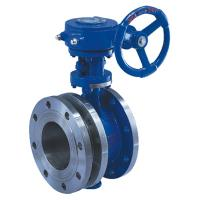 Buy cheap Flanged Manual butterfly valve,flange butterfly valve,industrial butterfly valve product