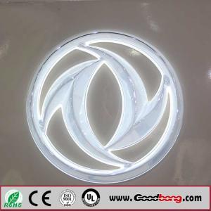 Buy cheap custom shape acrylic 3D LED auto emblem for 4s shop product