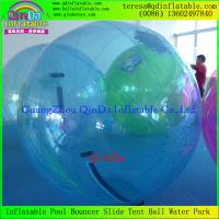 China Fast Shipping Thickness Inflatable Zorb Walk on Water Ball Water Sports Balloon For Adult on sale