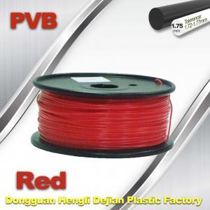Buy cheap Red PVB 3D Printer Filament 1.75mm / 3d Printer Consumables 0.5KG / Roll product