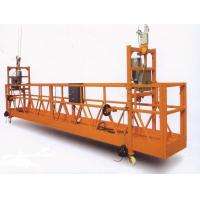 Buy cheap Steel galvanized 380v suspended working platform safety with LTD6.3 Hoist model product