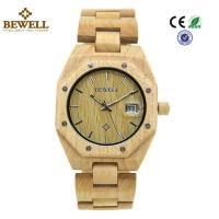 Buy cheap Custom Stable Personalized Mens Wooden Watch Environmentally Friendly product