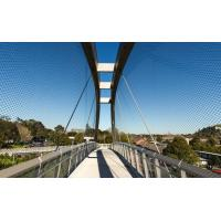 Buy cheap Anti Fall Stainless Steel Safety Net Corrosion Resistant To Protect Visitors product