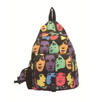Buy cheap Colorful Mp3 Speaker bag triangle -face pattern light and convenient  M04 product