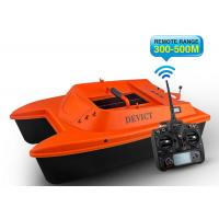 Buy cheap Orange Sea fishing bait boat DEVC-302 remote frequency 2.4G RoHS Certification product