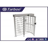 Quality Workshop Manual Full Height Turnstile Self Resetting Function ISO9001 CE for sale
