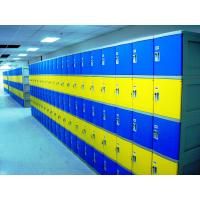 Buy cheap Red School Lockers With Keyless Lock , Factory price plastic employee ABS lockers product
