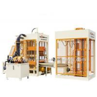 Buy cheap 7.5 Ton Automatic Block Making Machine , 6 Pieces Per Mould Brick Forming Machine product