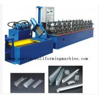 Buy cheap 20 Forming Stations In Automatic C - Z Changeable Purlin Roll Former 10Mpa - 12Mpa product