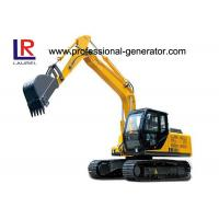 Buy cheap 26 MPa 85kw Vibrating Plate Compactor 13.5 Tons Small Digger with Grapple product