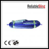 High Safety eye to eye Flat Webbing Sling for construction , boat lift