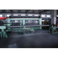 Quality 4m Galfan Coated Wire Automatic Gabion Mesh Machine , Mesh Dia. 3.0mm - 3.2mm for sale