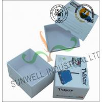 Buy cheap Corrugated Coated Paper Electronics TV Packaging Boxes White Color Matt Lamination product