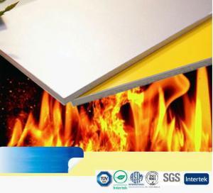 Buy cheap 1220mm*2440mm fire-resistant alucobond aluminum composite panel product