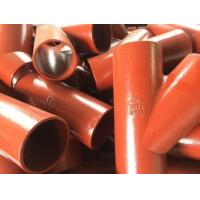 Buy cheap EN877 SML cast iron pipe,red epoxy coated product