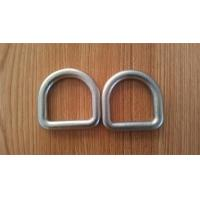 Buy cheap High Strength Safety D Rings Zinc Plated Buckle D Rings With Hot Forged product