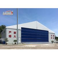 Buy cheap 30M Temporary Outdoor  Aircraft Airplane Hangar Tent with Hard Wall product