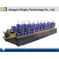 Buy cheap Perforated ERW Steel Tube Mill Equipment Welded Pipe Making Machine product