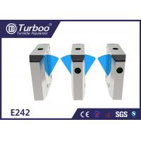 Buy cheap Multiple Sensors Flap Barrier Turnstile Access Control For Metro Station product