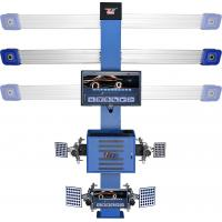 Buy cheap Double LCD ,Auto Trucking Camera beam T268 3D Car Wheel Aligner With Software & Database Free Updating product