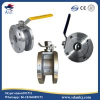 Buy cheap ANSI-150 Stainless steel 304/316/316L clamp type ball valve with ISO5211 mounting pad hot sell from wholesalers