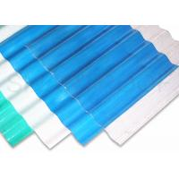 China High Corrosive Farm House FRP Roofing Sheets / Transparent Roof Panels on sale