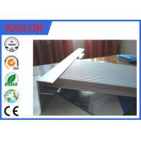 Buy cheap Construction Extrusions Waterproof Aluminum Decking , Aluminium Skirting Profiles from wholesalers