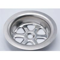 Buy cheap Stainless Steel Sink Strainer Parts 27 G OD 70 Mm Acid And Alkali Resistance product