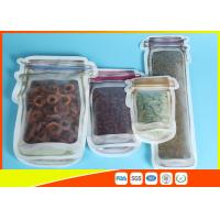 Buy cheap Portable Mason Jar Pattern Food Saver stand up zipper pouch 150-1000ml from wholesalers