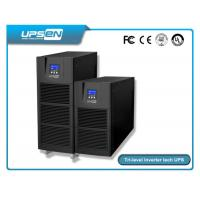 China Smart Pure Sine Wave Single Phase Online UPS For Computer Center , Data Center wholesale