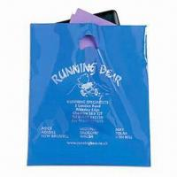 Buy cheap Promotional Plastic Carrier Bag with Silkscreen Printing product