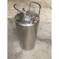 China Eco Friendly Material 5 Gallon Ball Lock Keg With Pressure Relief Valve And Lids on sale