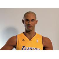 China  Kobe Bryant Wax Figure / Realistic Wax Sculptures For Museum Display , Memorial Hall  for sale